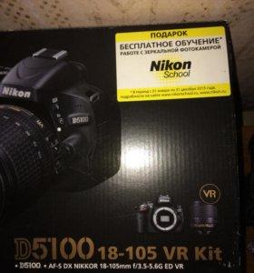 Фотоаппарат Nikon D5100 18-105VR Kit
