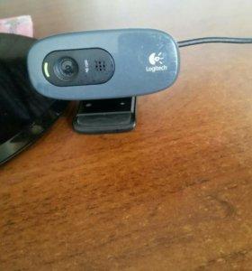 Вебкамера logitec
