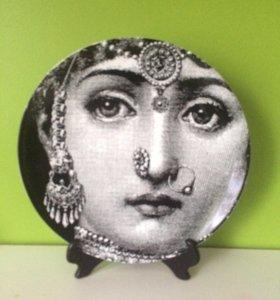 Тарелка декоративная fornasetti