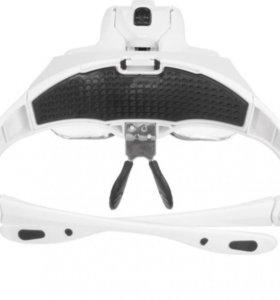 Увеличительные очки для наращивания ресниц .