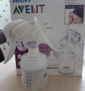 Молокоотсос  + стерилизатор для бутылочек