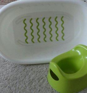 Ванночка и горшок IKEA