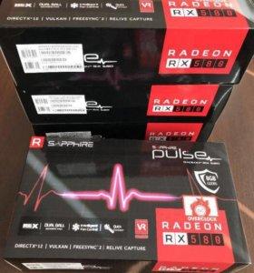 SAPPHIRE AMD Radeon RX580 PULSE 8G