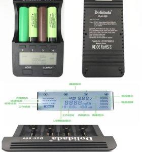 Новое Зарядное устройство 18650