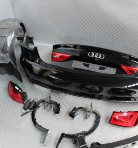 Audi A3 8V Задний бампер, багажник в сборе седан
