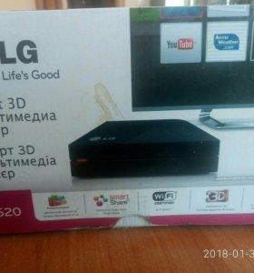 Smart 3d мультимедиа плеер lg sp520