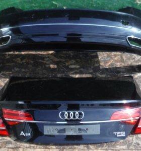 Бампер задний Audi A8 D4 Рестайл