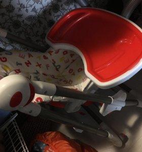 Детский стульчик для кормления selby