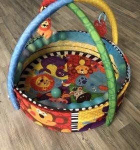 Игровой коврик с шариками