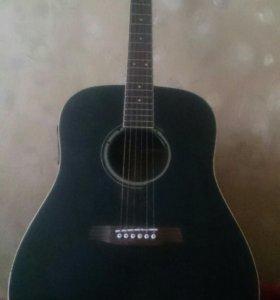Гитара с электро зкукоснимателем