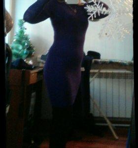 Платье теплое р42-44.