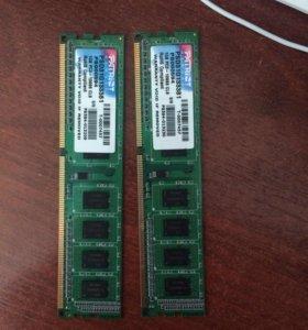 DDR3 1gb каждая