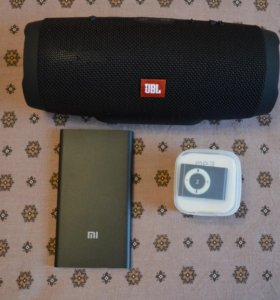 JBL CHARGE 3, POWER BANK 5000 mAh, MP3 ПЛЕЕР