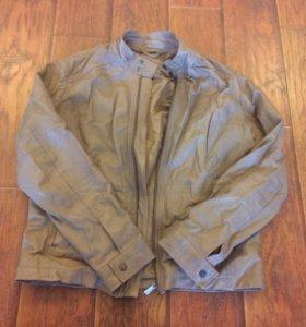 Куртка мужская кожаная Trussardi jeans