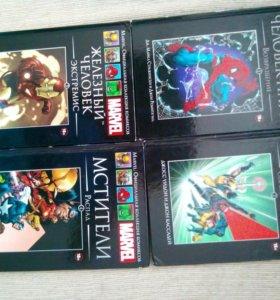 Книги комиксы мстители