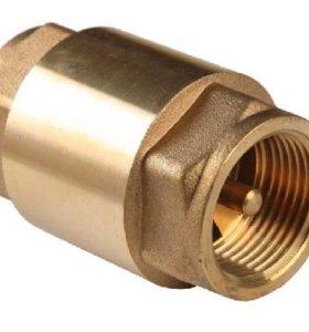 Обратный клапан с металлическим седлом