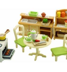 Домик с мебелью и фигурками Sylvanian families