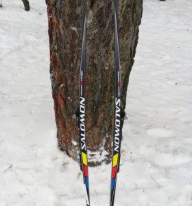 Беговые лыжи salomon equipe 6 combi 188