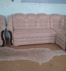 """0546 диван угловой """"Новелла"""" с креслом"""