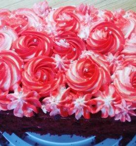 Капкейки ,торт
