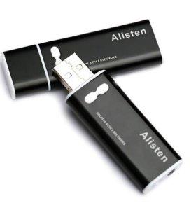 Мини-диктофон / MP3-плеер Alisten X13 4Гб