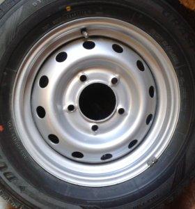 шины с дисками Dunlop Graspic DS-3