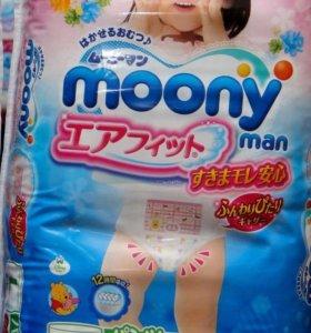 Подгузники-трусики Moony Disney. L44