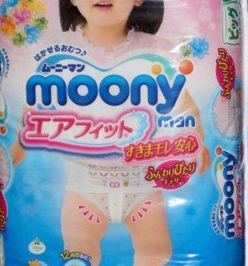 Подгузники-трусики Moony Disney. XL38