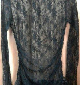 Гипюрова блузка