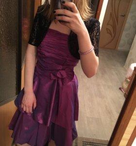 Вечернее праздничное платье