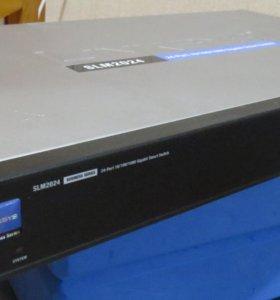 Управляемый коммутатор Linksys SLM2024