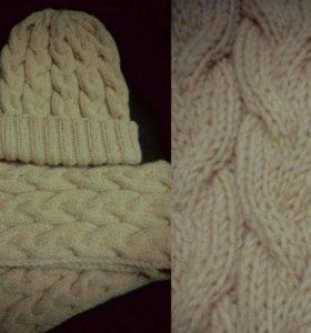 Шапки снуды шарфы варежки