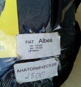 Авточехлы FIAT Albea анатомические