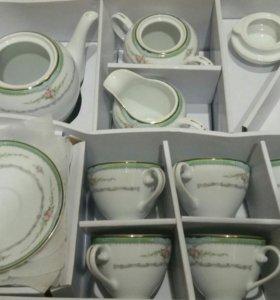 Чайный сервиз. Чехия новый
