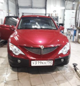 Ssangyong actyon sports 2008г
