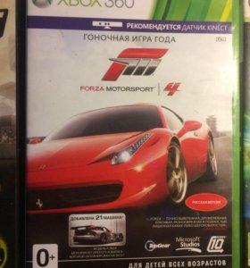 Игры для приставки   Forza motorsport 4 и Blur