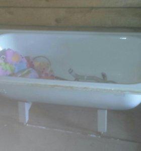 Металическая ванная