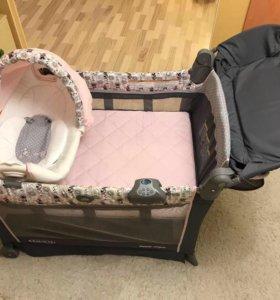 Продам манеж-кровать