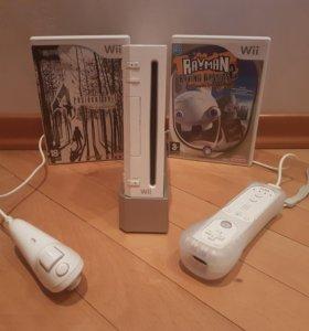 Nintendo Wii + 3 игры