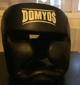 Боксерский шлем DOMYOS (чёрный)