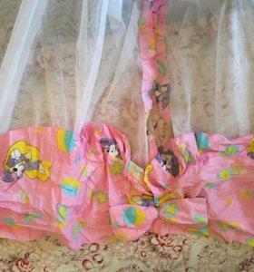 Балдахин на кроватку для девочки