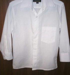 Рубашка белая, р.104