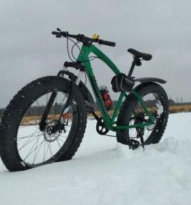Зимний, грязевой, вездеход велосипед FATBIKE