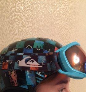 Маска сноубордическая детская