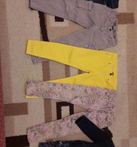 Вещи на девочку 4-5 лет пакетом