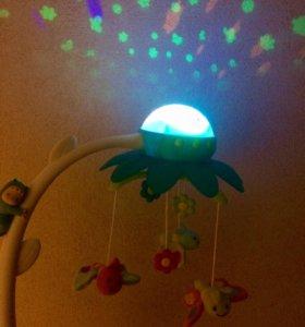 Мобиль музыкальный Цветок с проектором