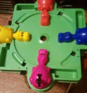 Игра  Голодные бегемоты, бу, без  шариков