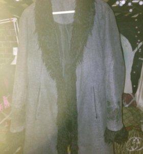 Пальто цигейка