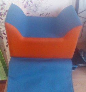 Детский парикмахерский стульчик