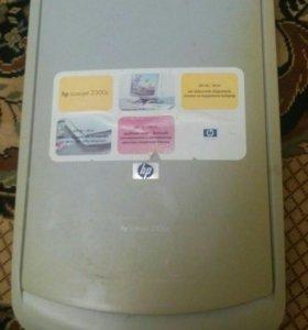 Сканер hp 2300c